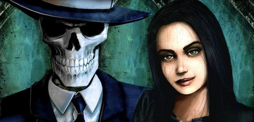 Skulduggery Pleasant and Valkyrie Cain