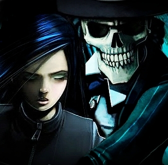 Skulduggery and Valkyrie
