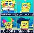 Spongebob in High school - spongebob-squarepants fan art