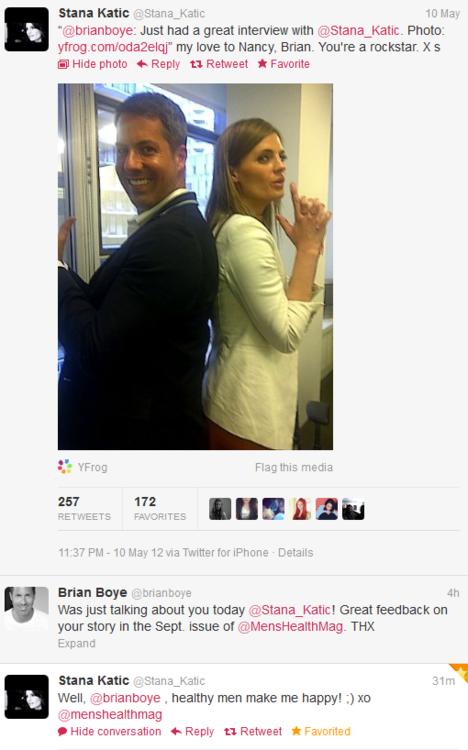 Stana Katic Twitter