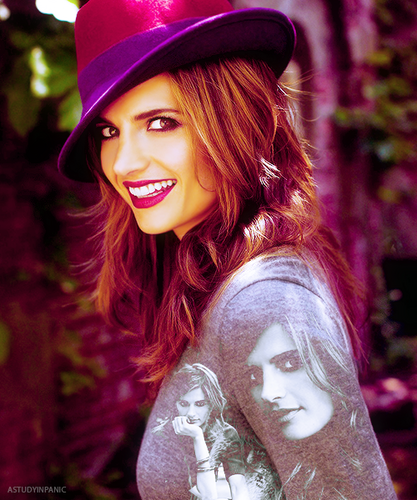 Stana Katic achtergrond entitled Stana