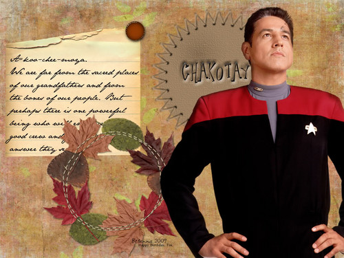 bituin Trek Voyager - wolpeyper sa pamamagitan ng be-lanna