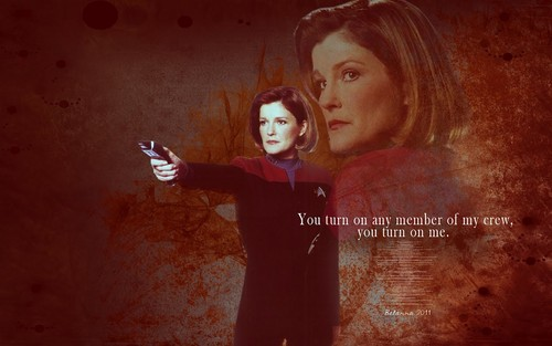 star, sterne Trek Voyager - Hintergrund Von be-lanna