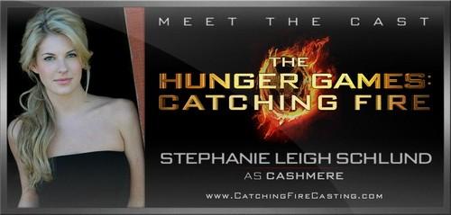Stephanie Leigh Schlund Cast as Cashmere