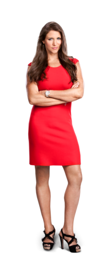 WWE wallpaper containing a hip boot called Stephanie McMahon