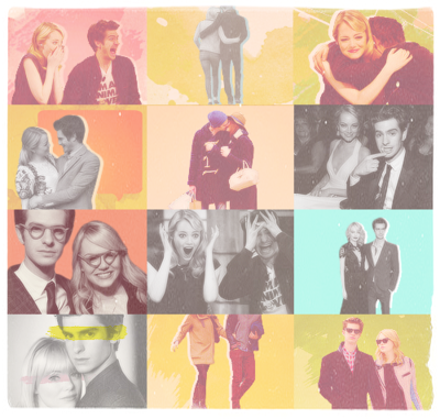 Andrew Garfield and Emma Stone karatasi la kupamba ukuta with anime called Stonefield