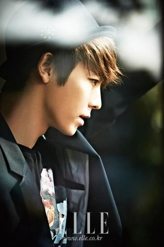 Super Junior's Donghae for Elle Magazine