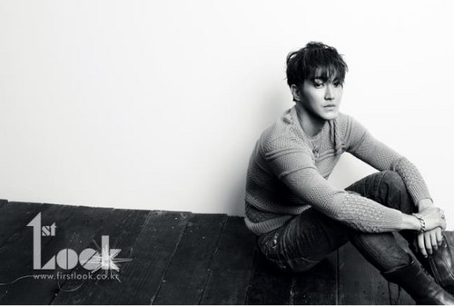 Super Junior's Siwon in 1st Look magazine