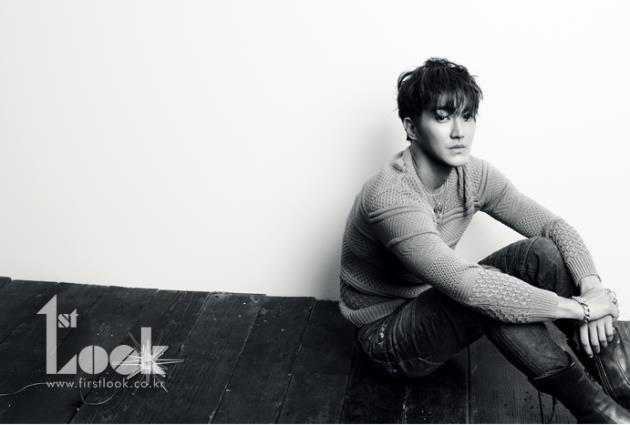 Super Junior's Siwon in 1st Look magazine