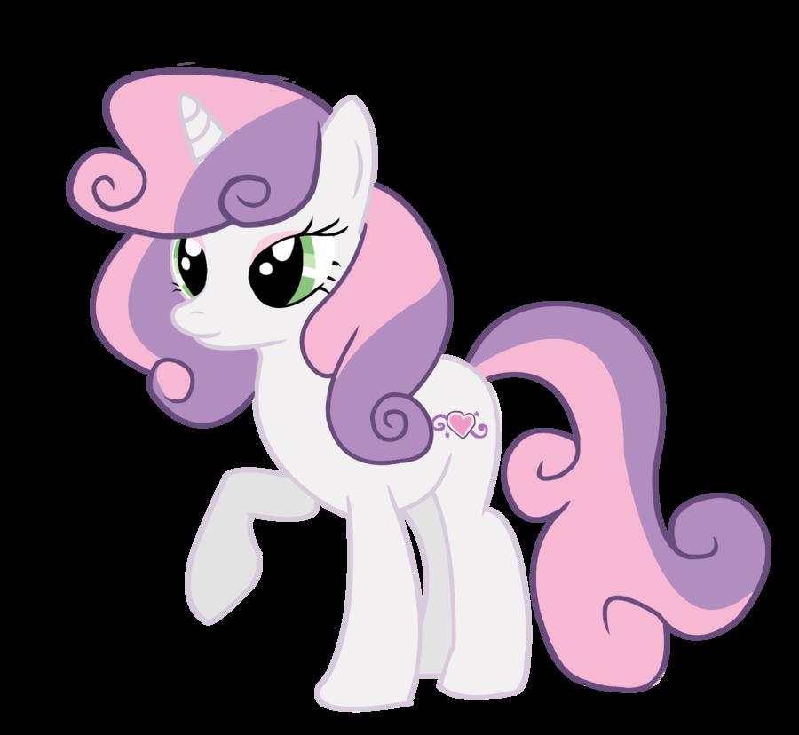 My little pony sweetie belle baby - photo#17