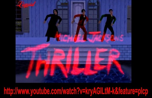 THE SIMS 3 - Thriller Michael Jackson - Snarry Version