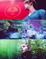 Katniss Everdeen - the-hunger-games-movie fan art