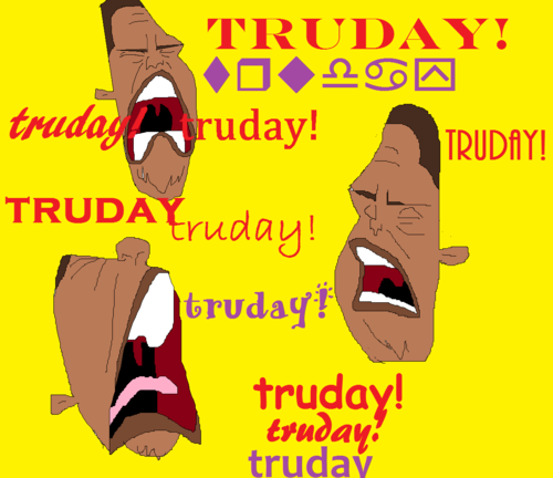 The Proud Family wallpaper containing anime titled TRUDAY!!!!!!!!!!!!!!!!