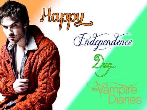 TVD Indian Independence dag Special achtergrond door DaVe!!!