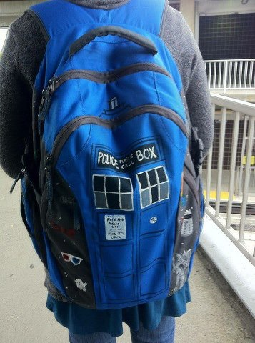 Tardis Bag Pack