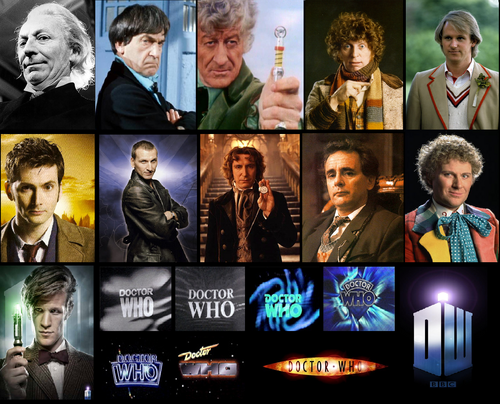 doctor who wallpaper with a stained glass window entitled The 11 Doctors