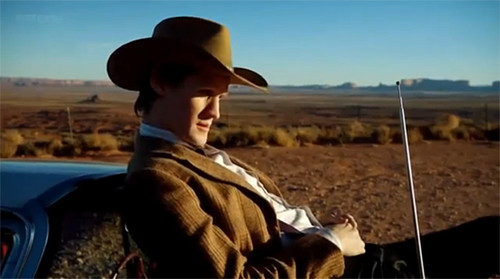 The Doctor and his precious Stetson. :)