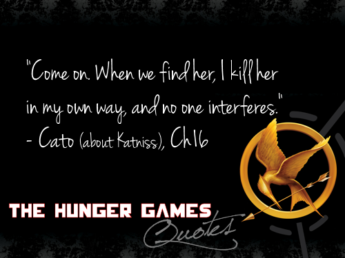 The Hunger Games پیپر وال called The Hunger Games quotes 181-200