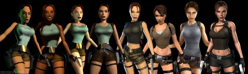 The Many Changes of Lara Croft (Tomb Raider 1996- Tomb Raider Underworld)