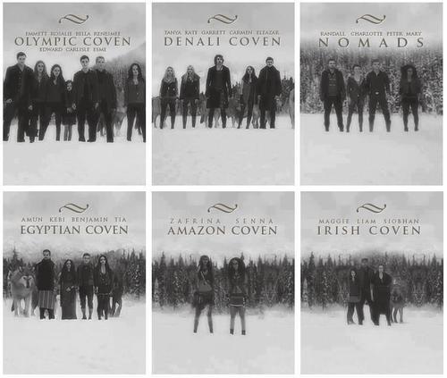 The Vampire Covens