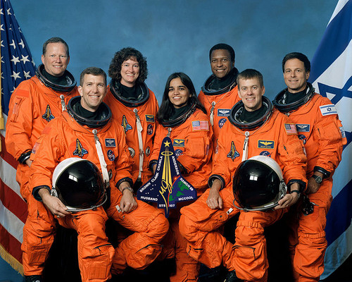 The crew of the Challenger's final flight.