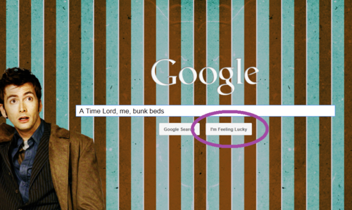The tenth Doctor-Google <3