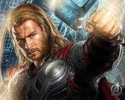 Thor Hintergrund probably with a breastplate called Thor