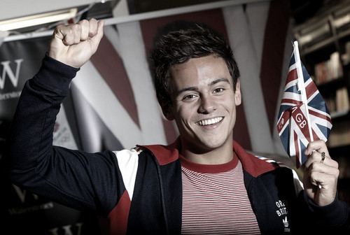Tom Daley at Book Signing 16th August 2012