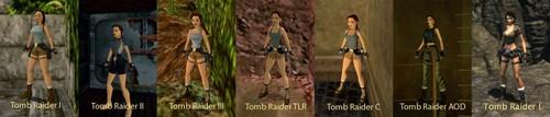 Tomb Raider Evolution (Tomb Raider 1996 - Tomb Raider Legend)