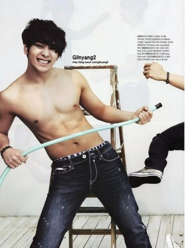 Topless 2PM in a Magazine