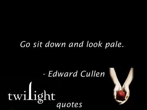 Twilight quotes 101-120 - twilight-series Fan Art