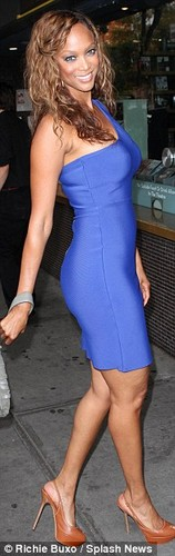 "Tyra Banks at the Screening Of ""Two Days In New York"" 12 august 2012"