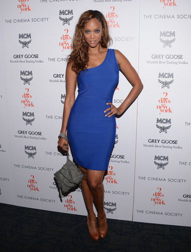 "Tyra Banks at the Screening Of ""Two Days In New York"" 7 august 2012"
