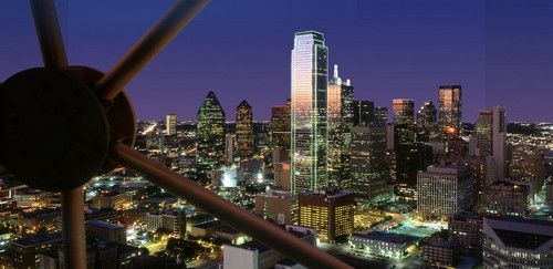 View from the dallas ball room tower
