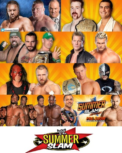 wwe wallpaper probably containing skin entitled wwe SummerSlam