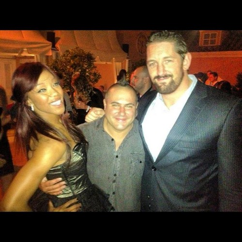 Wade Barrett,Alicia Fox,and Chad Martel