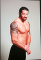 Wade Barrett's upcoming photoshoot for 美国职业摔跤 Magazine