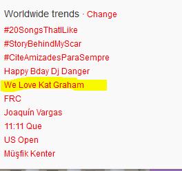 We Love Kat Graham