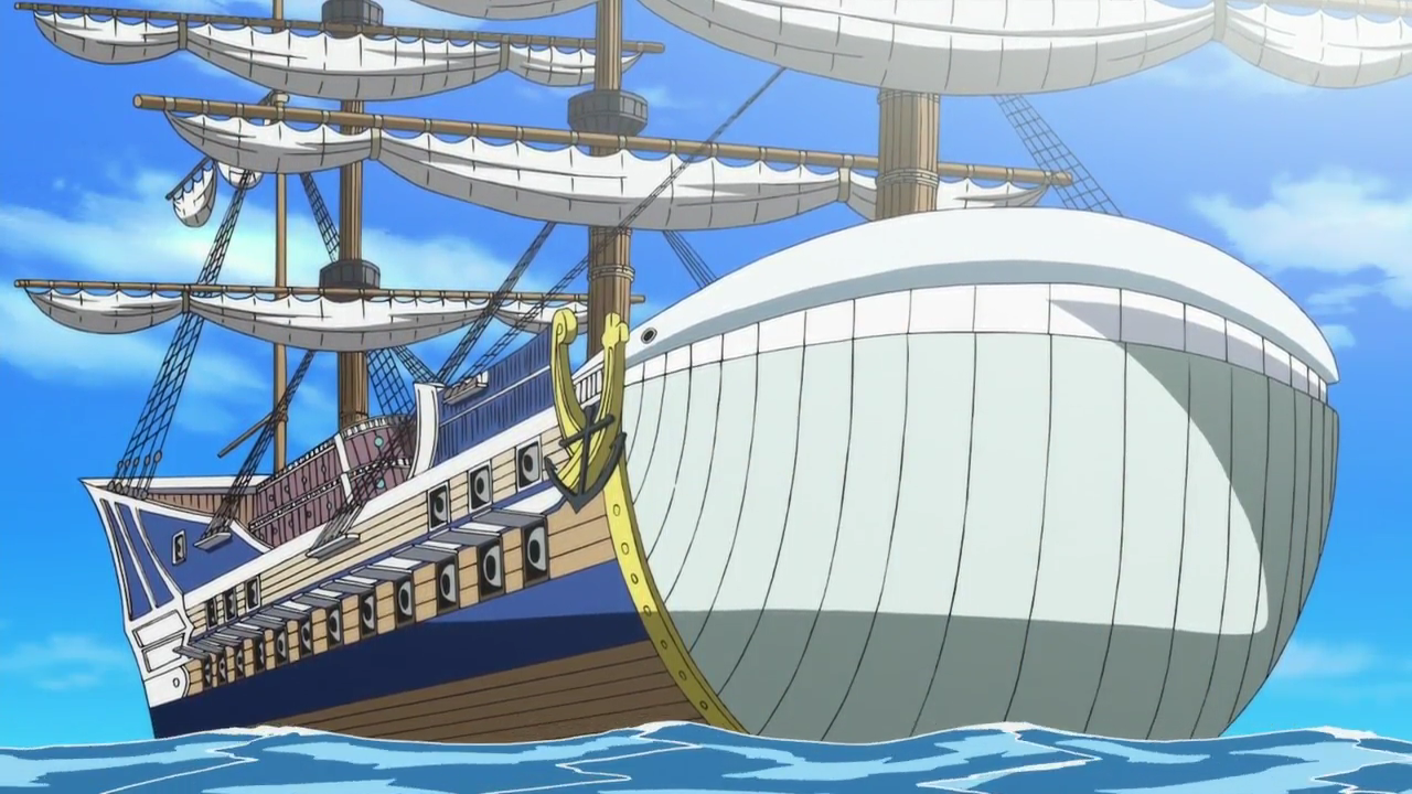Whitebeards flagship, the Moby Dick