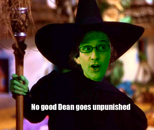 Community achtergrond entitled Wicked Dean of the West