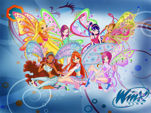 The Winx Club wallpaper containing anime entitled Winx Club
