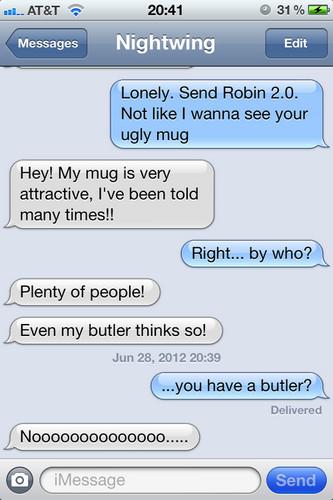 YJ texting