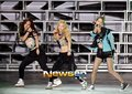 Yoona,Hyoyeon,and Yuri dance break @ SMtown in Seoul