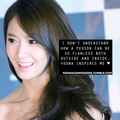 Yoona confessions on Tumblr