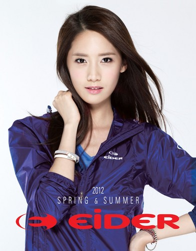 Im yoonA fond d'écran with a well dressed person and a portrait entitled Yoona for Eider