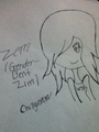 Zem, gender-bent Zim. - girsmurf22 fan art
