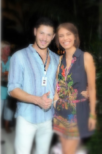 alex meraz and lauren cohan 2012
