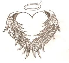 Love wallpaper entitled angel heart