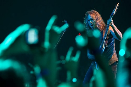 at Rexall Place in Edmonton - metallica Photo