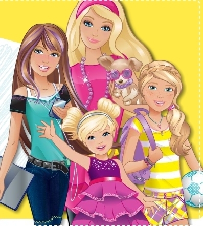 Barbie with her sisters